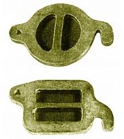 Kernkasten-Verschlussklappen