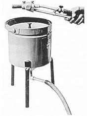 Injektor-Klein-Strahlgerät, tragbar Type 'TF'