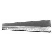 Werkstätten-Stahllineale ohne mm-Teilung