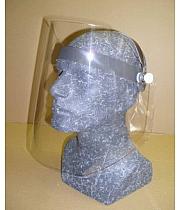 Gesichts-Schutzschirme hochklappbar