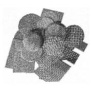 Eingusssiebe aus Glasgewebe für Eisen- und Schwermetallguss